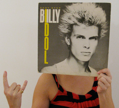 Fran as Billy Idol