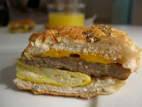 Best Sausage Egg and Cheese