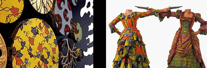 Yinka Shonibare at the Brooklyn Museum
