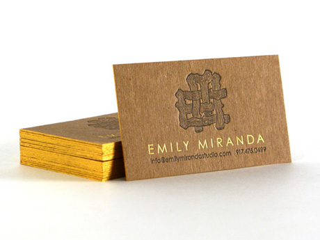 Emily Miranda Business Cards